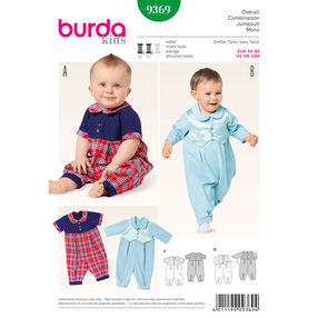 Burda Style Pattern 9369 Jumpsuit