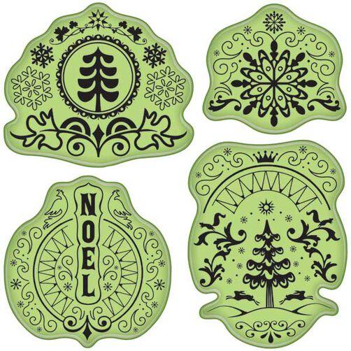 Folk Winter Stamps_65-32036