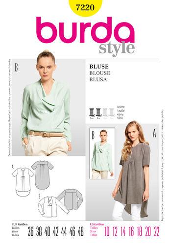 Burda Style Pattern 7220 Blouse