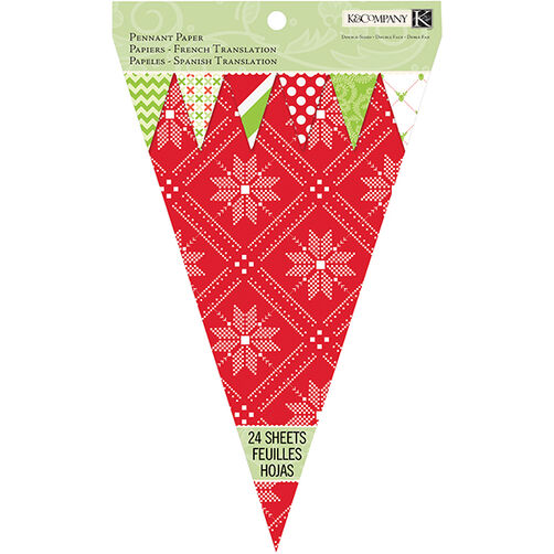 Mod Holiday Pennant Pad_30-679429