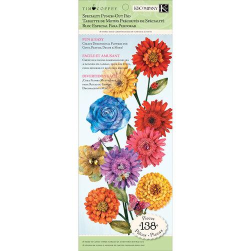 Tim Coffey Cottage Garden Flower Die-cut Paper Pad_30-598720