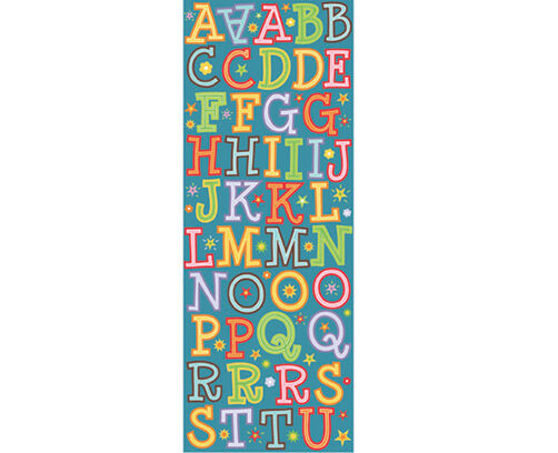 Spaghetti Die-cut Alphabet Stickers_30-304604