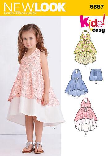 Child's Dress, Tunic and Shorts