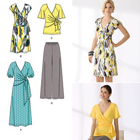 Simplicity Pattern 2369 Misses' Dress & Separates