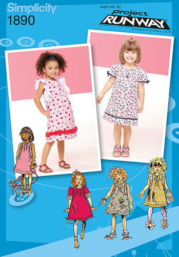 Toddler's & Child's Dresses Project Runway Collection