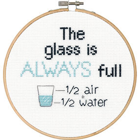 Full Glass, Counted Cross Stitch_70-74698