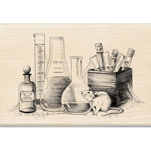 Laboratory Wood Stamp_60-00798