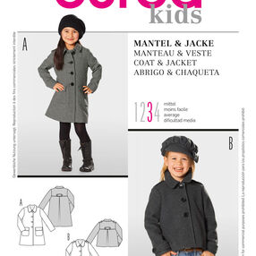 Burda Style Pattern 9501 Coat & Jacket