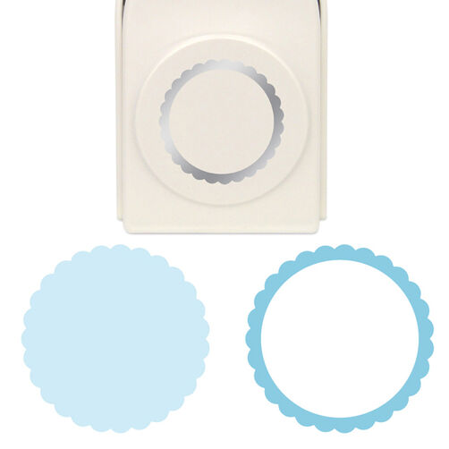 Scalloped Circle  Layering Punch_42-36010