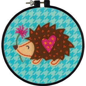 Little Hedgehog, Felt Appliqué_72-74836
