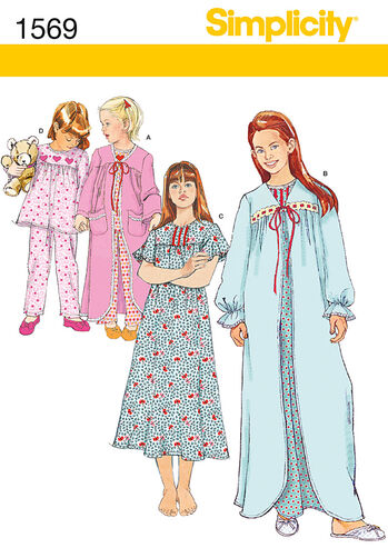 Child's and Girl's Sleepwear