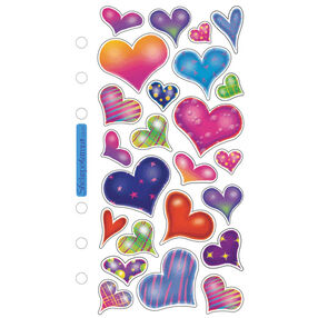 Sparkle Hearts Classic Stickers_SPCS07