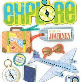 Great Journey Dimensional Sticker _30-578012