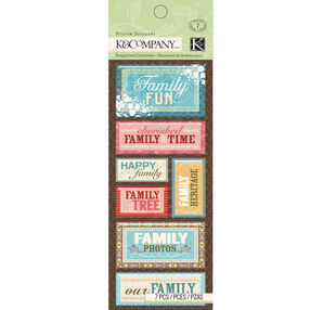 Family Members  Pillow Stickers _30-659902