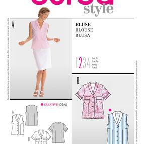 Burda Style Pattern 8218 Blouse