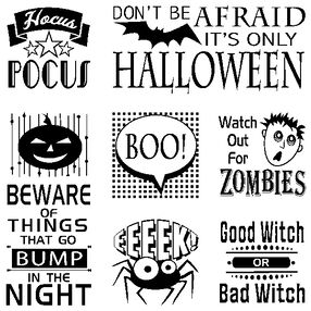 It's Halloween Clear Stamp Bundle_60-31228
