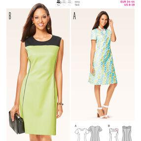 B6627 Misses' Dress