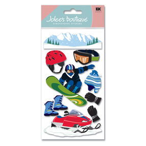 Snowboarding Stickers_SPJBLG275