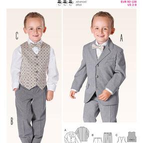 Burda Style Pattern 9443 Evening Wear