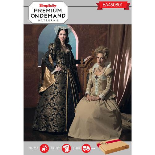 Ea450801 premium print on demand costume pattern for Premium on demand