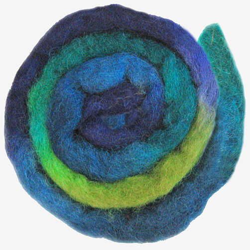 Cool Blended Wool Roving, Needle Felting_72-74001