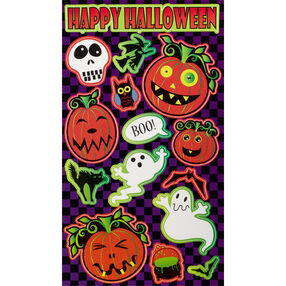 Ghostly Halloween Stickers_52-00178