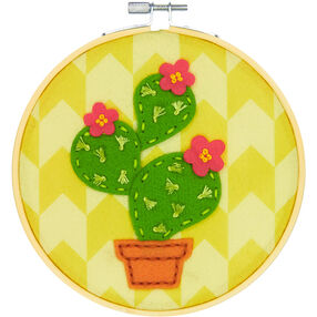 Cactus, Felt Appliqué_72-75110