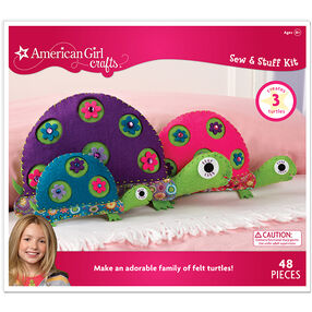 Turtle Family Sew & Stuff Kit_30-667556