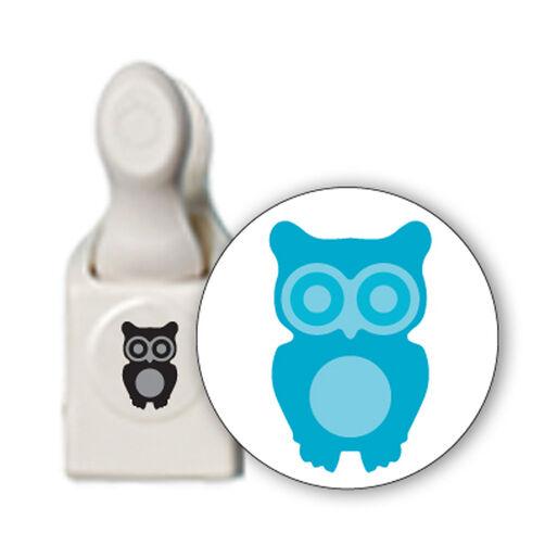 Owl Medium Double Embossed Punch_M283412