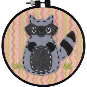 Little Raccoon, Felt Appliqué_72-74837