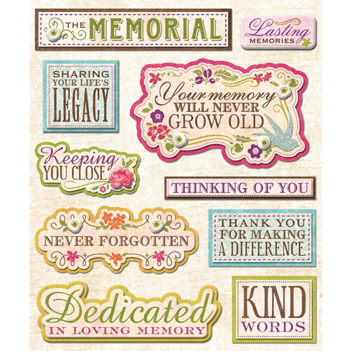 Memorial Site Sticker Medley_30-586970