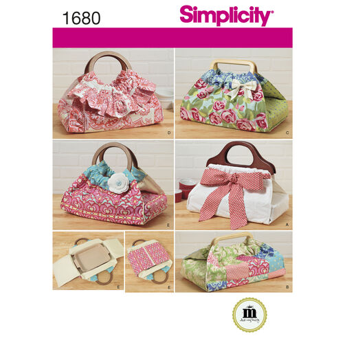 Simplicity Pattern 1680 Casserole and Dish Carriers