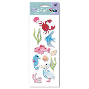 A Day at the Beach Sea Life South Stickers_SPJJ131