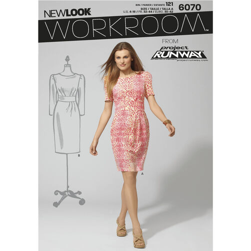 New Look Pattern 6070 Misses' Dresses