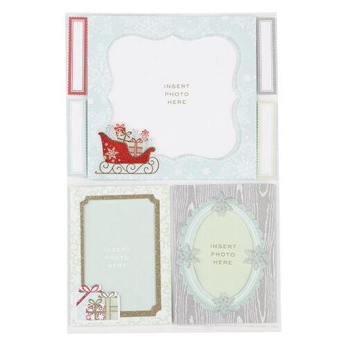 Snow Lace Frame Stickers _48-30111