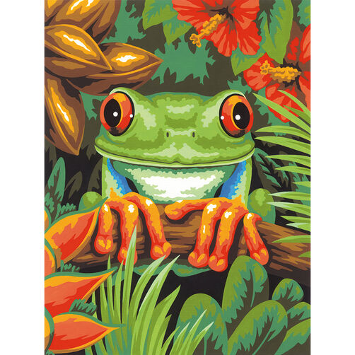 Tree Frog, Paint by Number_73-91617