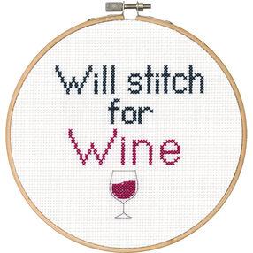 Stitch for Wine, Counted Cross Stitch_70-74635