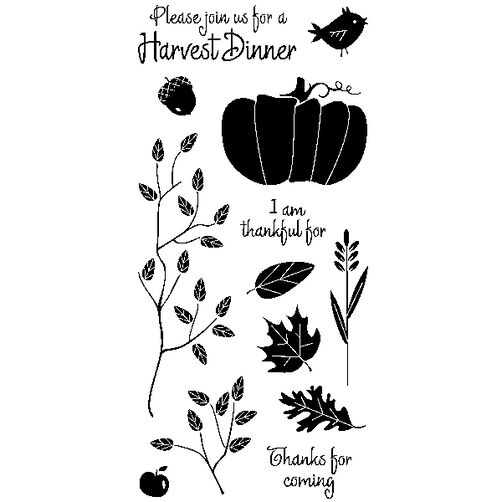 Harvest Dinner Clear Stamps_60-30933