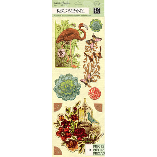 Engraved Garden Icon Sticker Medley_30-619272