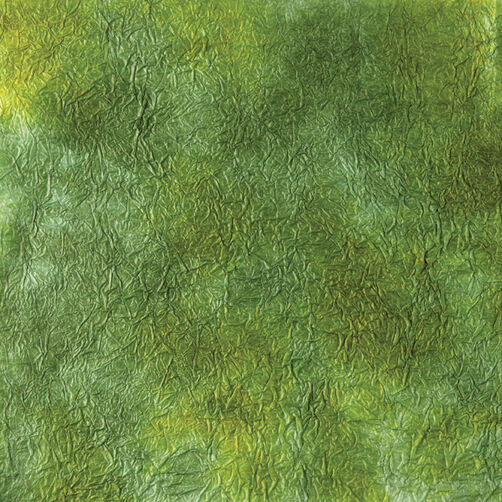 Hand Dyed Green Paper_50-00417