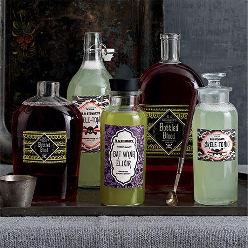Gothic Lace Beverage Labels_48-20335