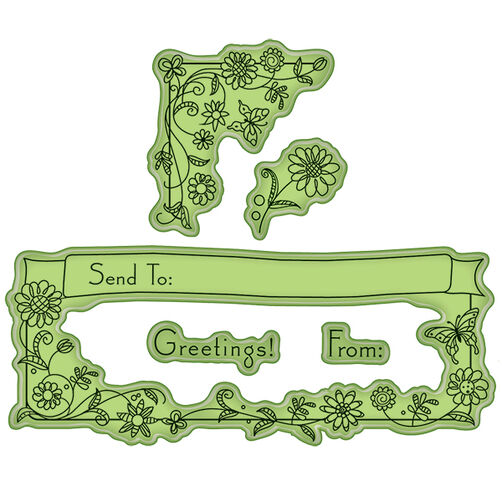 For the Envelope Cling Stamps_60-60331
