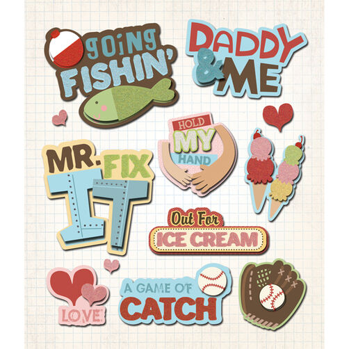 Daddy & Me Sticker Medley_30-587465