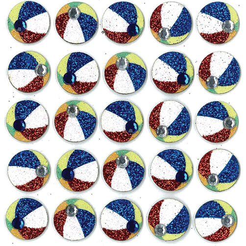 Beach Ball Repeat Stickers _50-20765