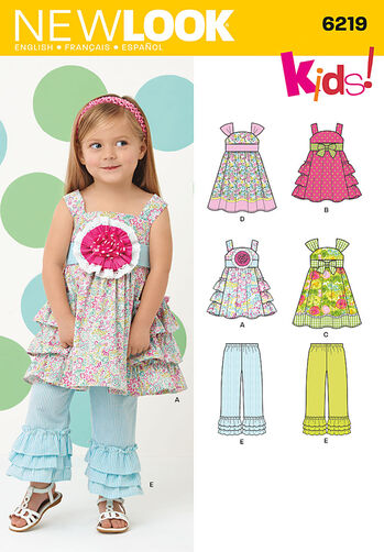 Toddlers' Dress and Pants