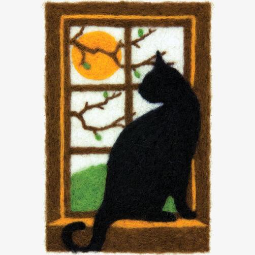 Cat Needle Felting Art_72-73927
