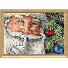 Santa's Secret, Counted Cross Stitch_08799