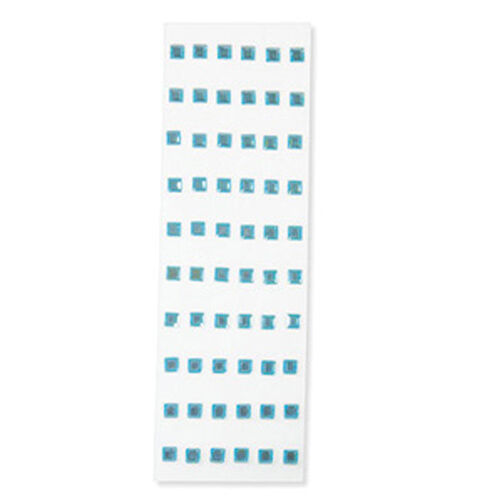Blue Dimensional Gem Stickers _M921206