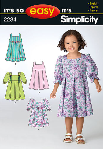 It's So Easy Toddler's Dresses
