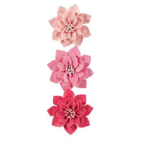 Fabric Camellia Stickers_41-00303